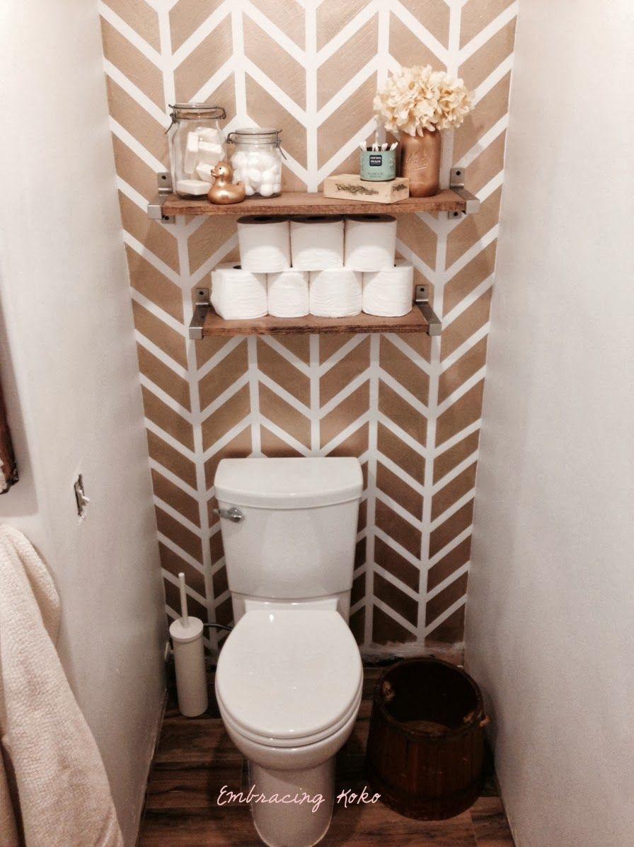 So Cute Embracing Koko Small Bathroom Wallpaper Bathroom Small Bathroom