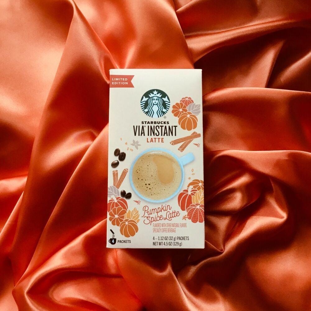 New fall 2019 starbucks pumpkin spice latte via instant 4