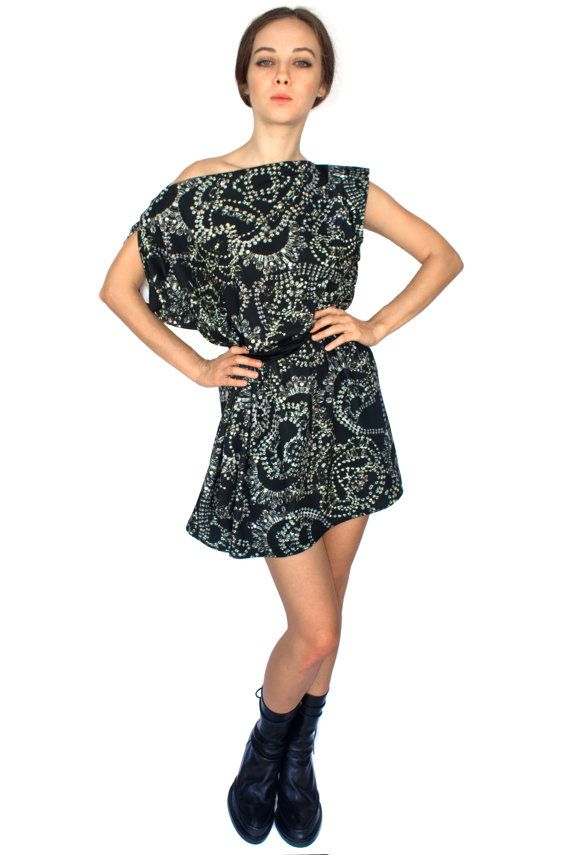 Diamonds Jersey Dress by Shadowplaynyc on Etsy
