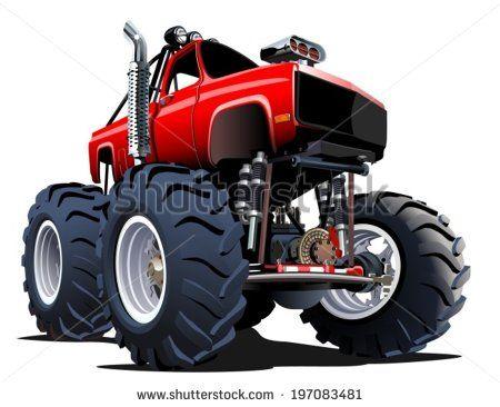 Monster Truck Monster Truck Dessin