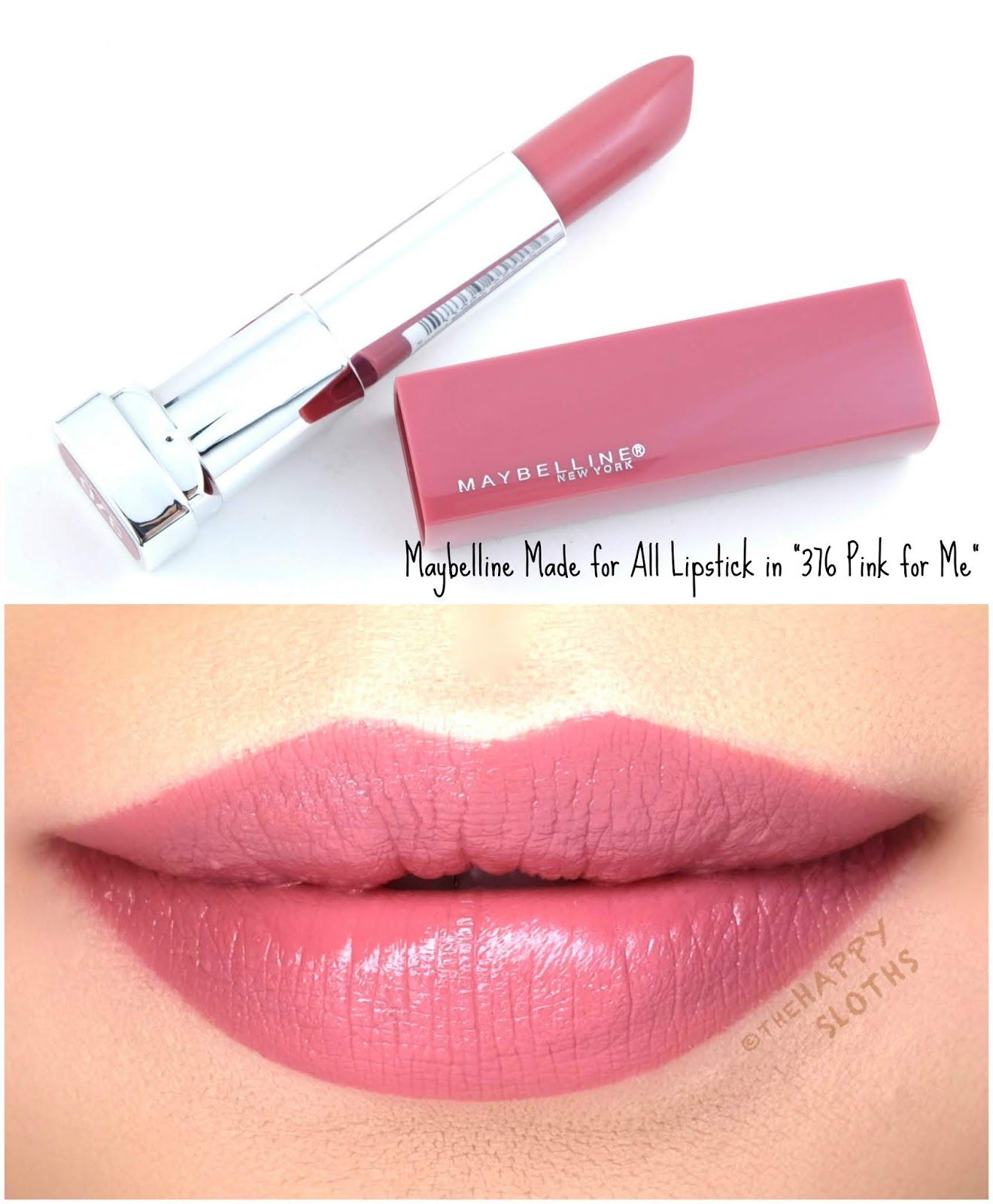 Photo of Maybelline | Made for All Lipstick by Color Sensational: Review and Swatches