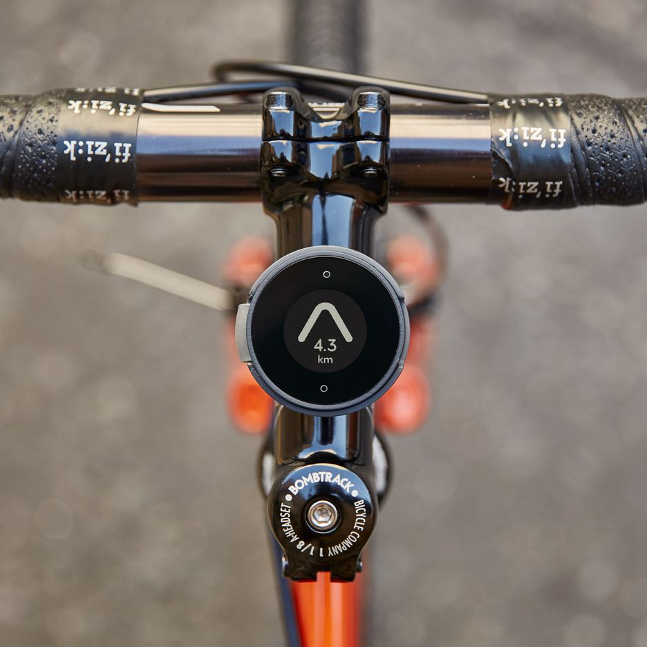 Beeline Bicycle Compass By Map Bicycle Simple Bike Cycling Design