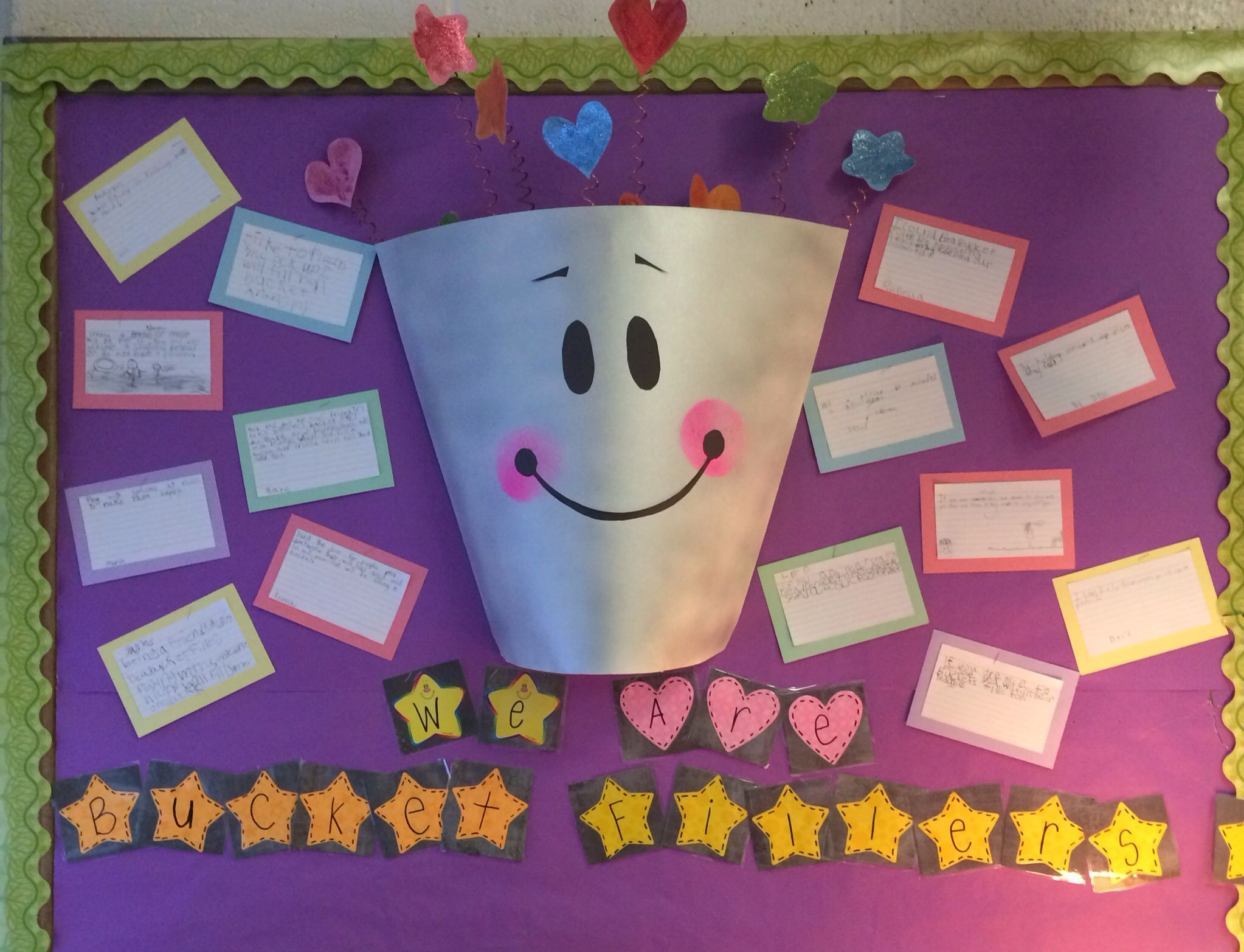 We Are Bucket Fillers Students Read Have You Filled A