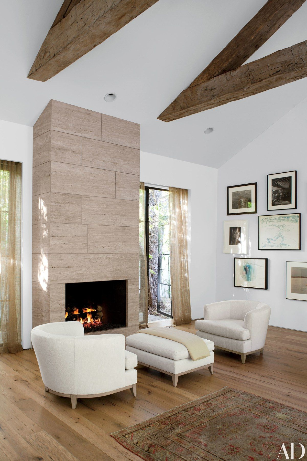 Fashion Designer Jenni Kayne S House In Beverly Hills With Images Contemporary Bedroom Home Celebrity Houses