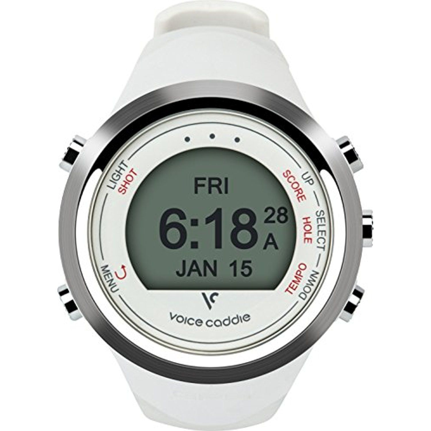 T1 Hybrid Golf GPS Watch Details can be found by
