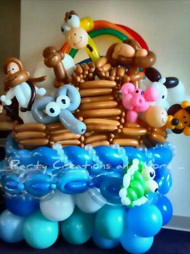 noah 39 s ark twist balloon totally twisted characters pinterest. Black Bedroom Furniture Sets. Home Design Ideas