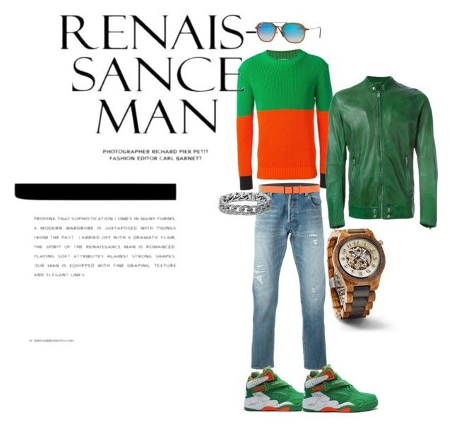 """""""I AM JMADDD STYLES"""" by johncm on Polyvore featuring Yves Saint Laurent, J.W. Anderson, Dsquared2, Diesel, Ray-Ban, David Yurman, men's fashion and menswear"""