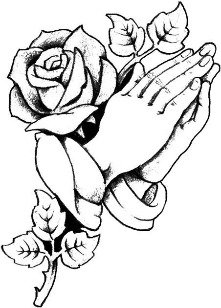 28 Praying Hands Coloring Page Pictures Heart Coloring Pages
