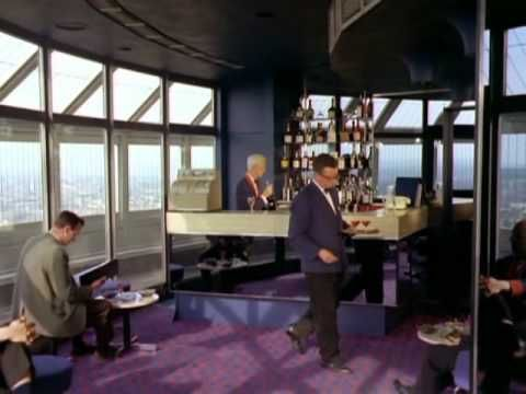 The Post Office Towers Revolving Restaurant In 1966 Spaces