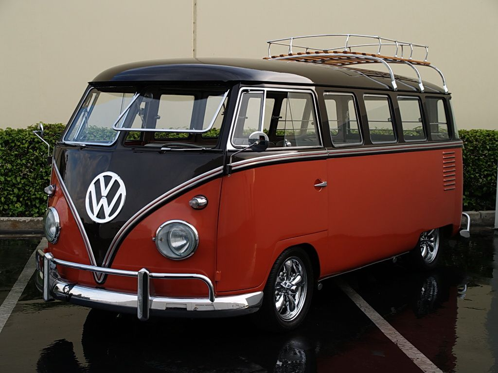 The volkswagen type 2 aka bus or minibus is the forerunner of many cargo and passenger vans today its popularity in the gave it another nickname the