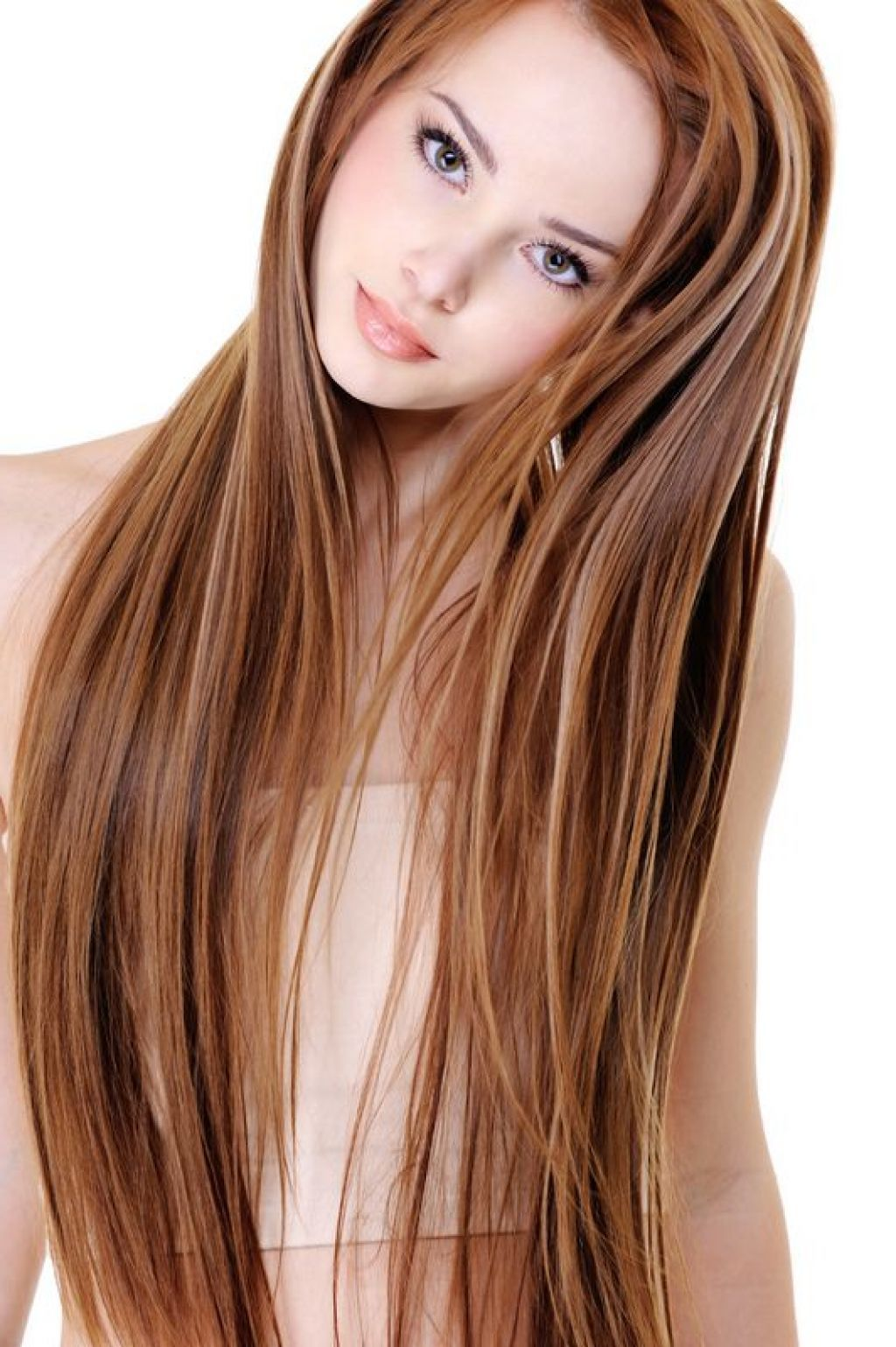 Red Brown Hair Color With Caramel Highlights | Fashion ...