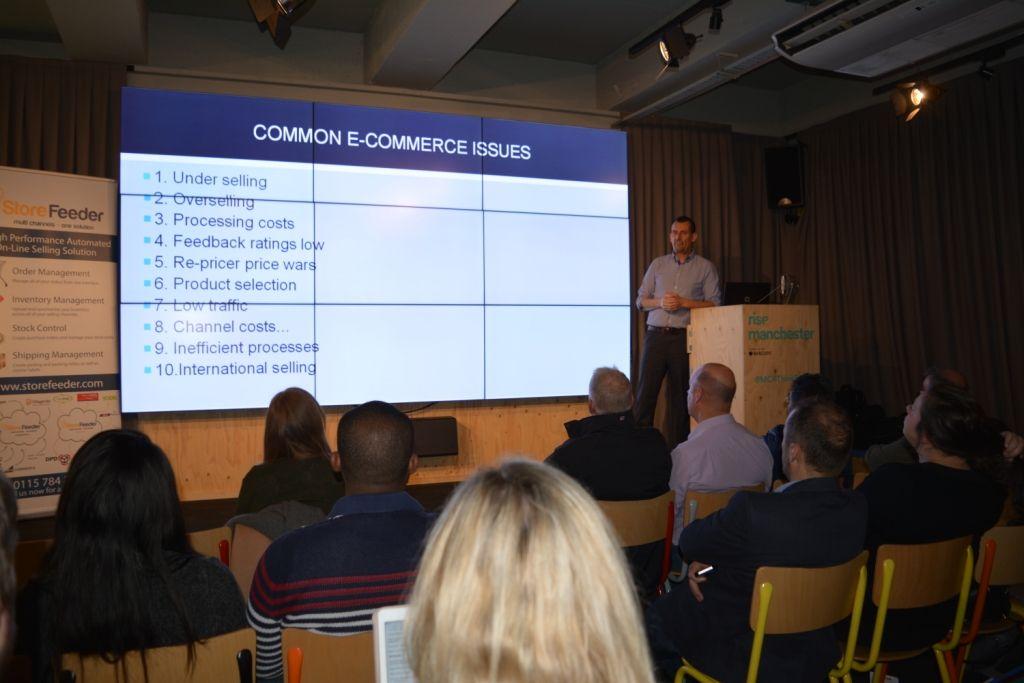 Expert #eCommerce talks  - Karl at Storefeeder