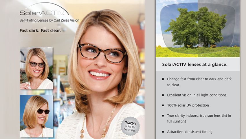f3ce79fa954 SolarACTIV Self-Tinting Lenses by Carl Zeiss Vision