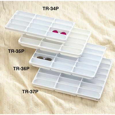 d66a7ea3b8 TR-37P Plastic eyewear tray (open bottom)