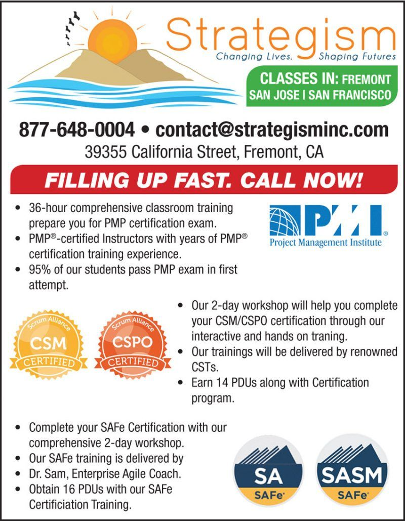 Filling Up Fast Call Now Strategism For Certification Training In