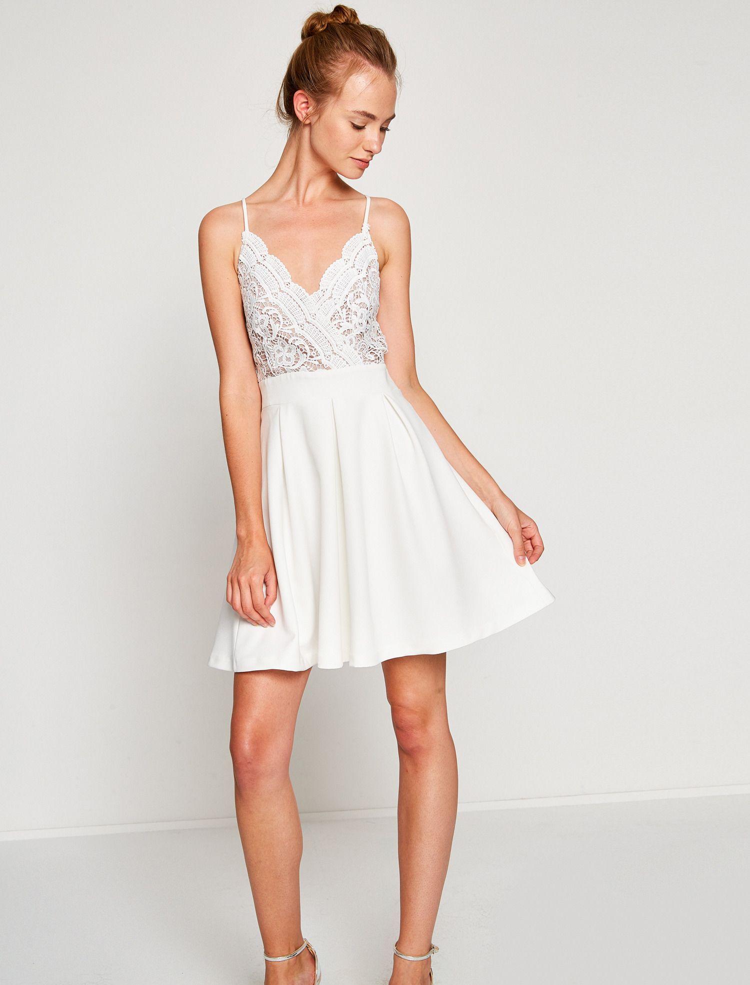 Koton Koton Kadin Dantel Detayli Elbise Elbise The Dress Resmi Elbise