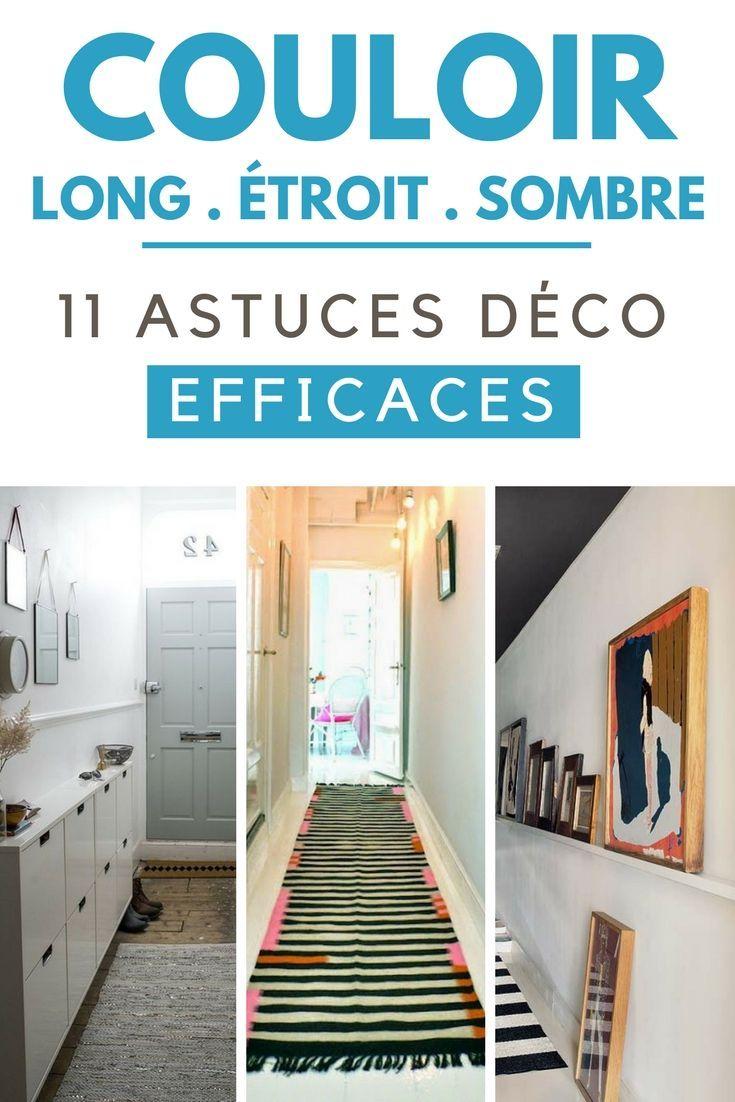 vous avez un couloir long troit ou sombre d couvrez 11 astuces d co efficaces diy. Black Bedroom Furniture Sets. Home Design Ideas
