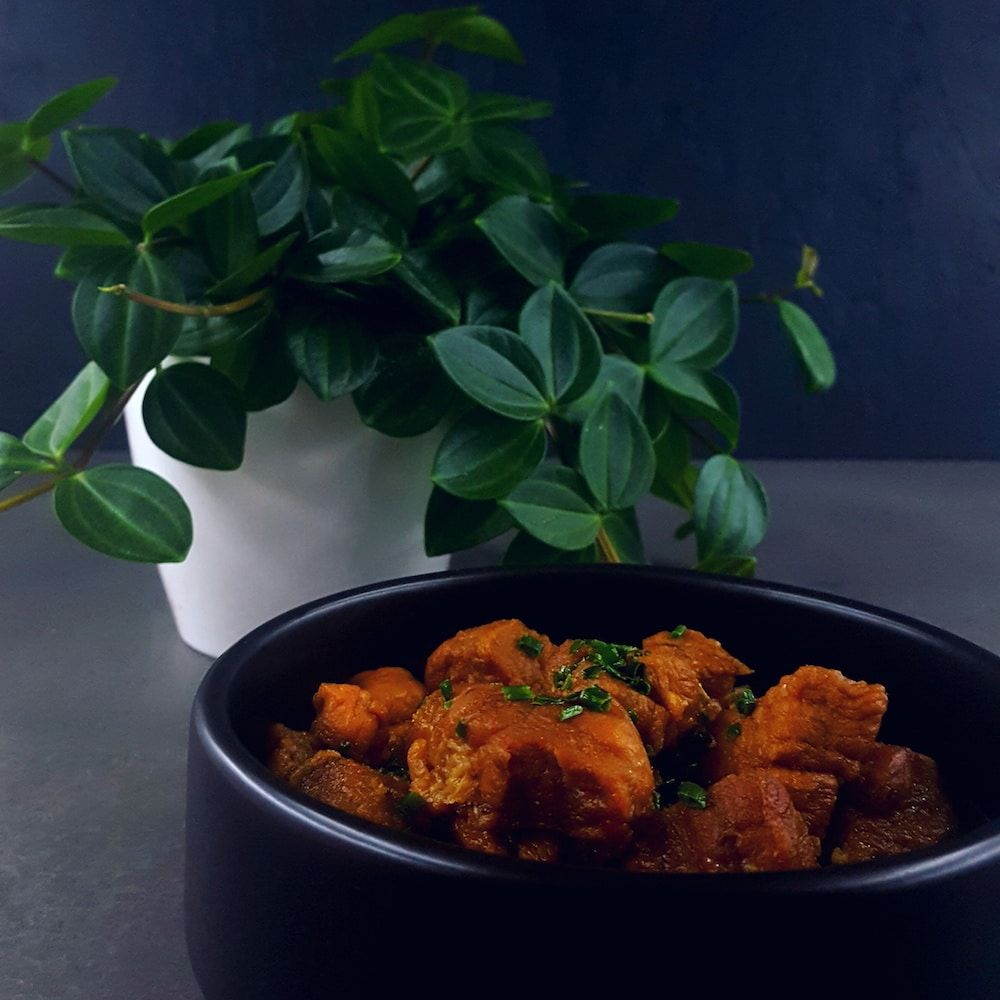 porc au caramel super rapide recipe recettes kcook. Black Bedroom Furniture Sets. Home Design Ideas