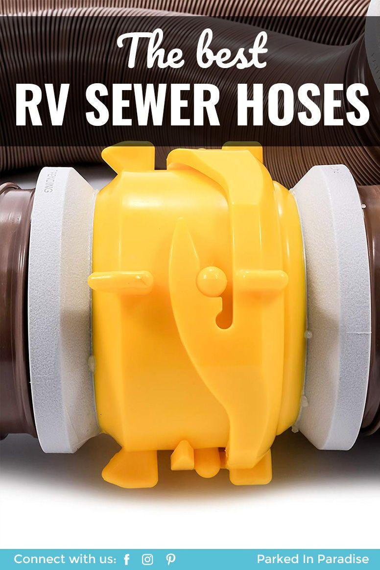 Best RV Sewer Hose 5th wheel travel trailers, Plumbing