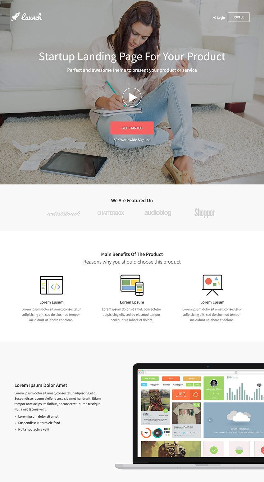 15 Best WordPress Landing Page Themes Made for