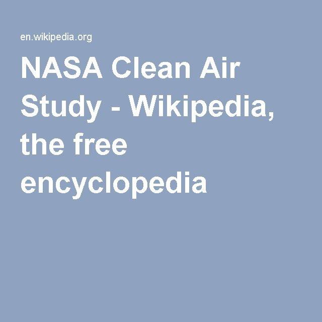 NASA Clean Air Study - Wikipedia, the free encyclopedia