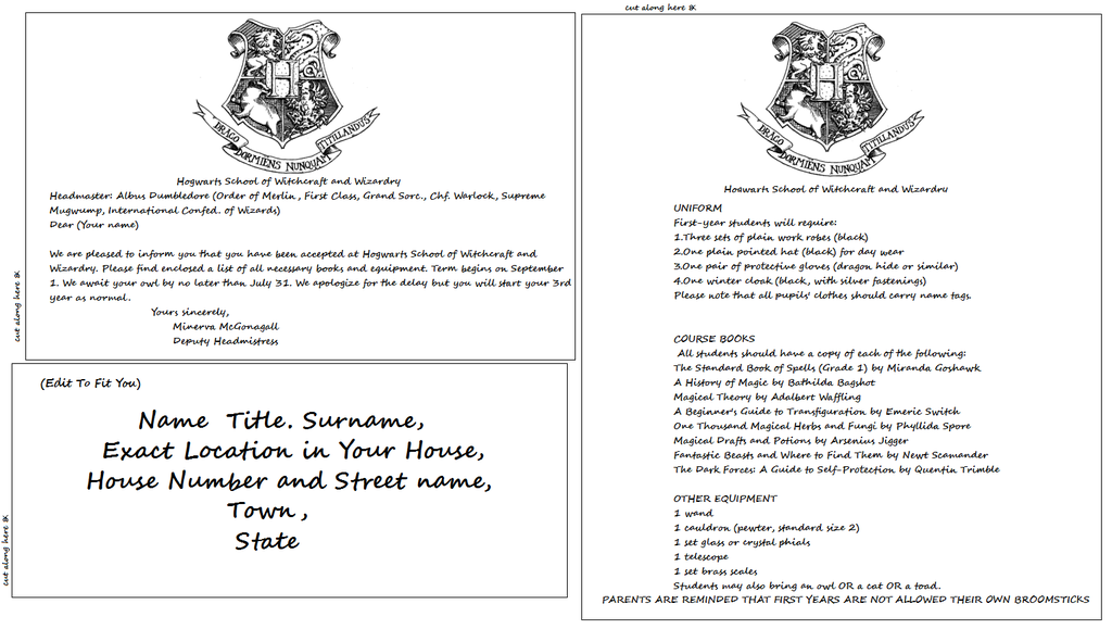 Hogwarts acceptance letter template by basaliskfangiantart hogwarts acceptance letter template by basaliskfang on deviantart spiritdancerdesigns Gallery