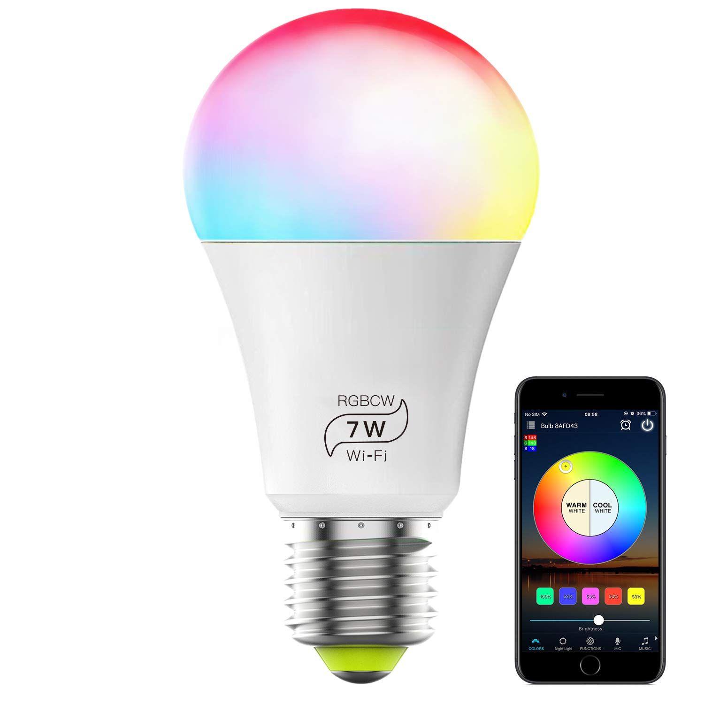 Etsy Smart Led Bulb In 2020 Color Changing Light Bulb Smart Bulb Bulb