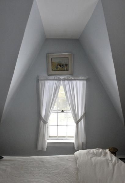 historic carpenter gothic homes photos   The angles of the steep pitched roof creates a dormer-like spaces in ...