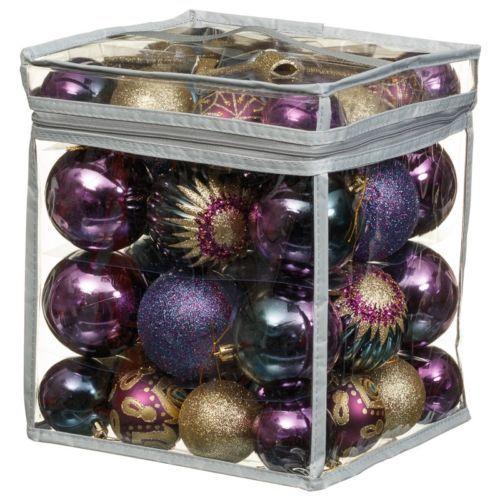 Luxury Christmas Decoration Bauble Value Bag 51pc Various Colours 302392 Ebay Christmas Decorations Cheap Christmas Trees Xmas Baubles