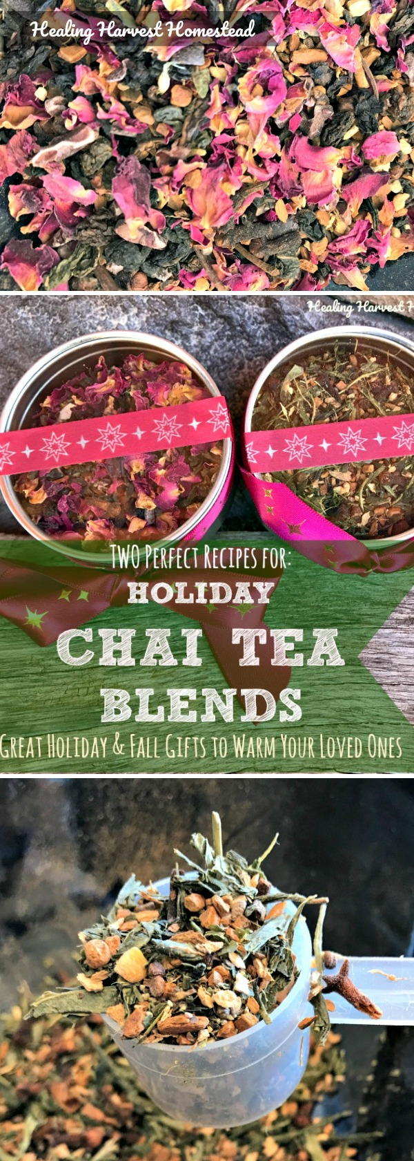 Photo of Herbal Chai Teas: Two Perfect Blends for Fall Pleasure or for Gift Giving (Chai Tea Blends to Crave!) — Home Healing Harvest Homestead