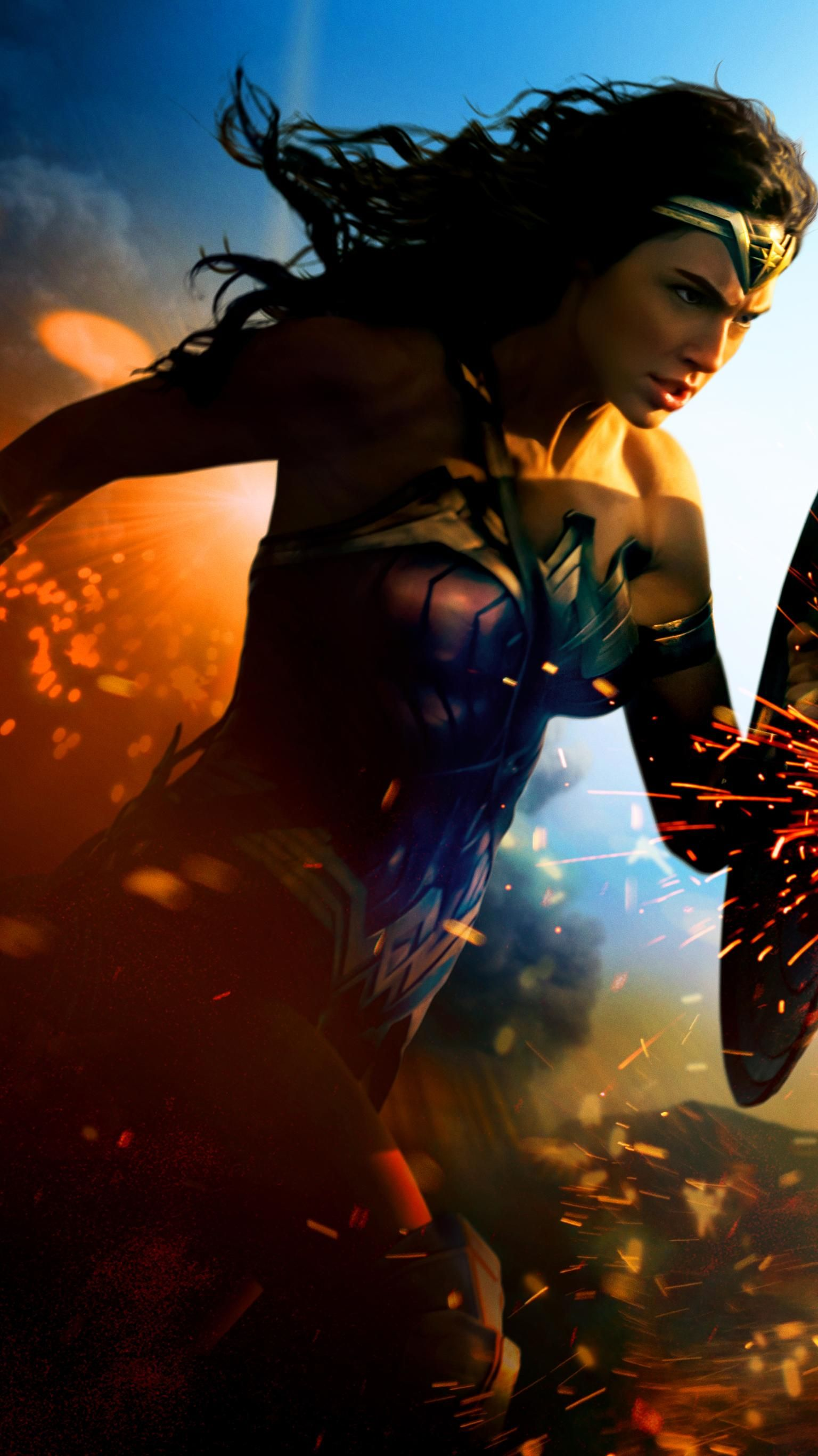 Wonder Woman 2017 Phone Wallpaper Mujer Maravilla