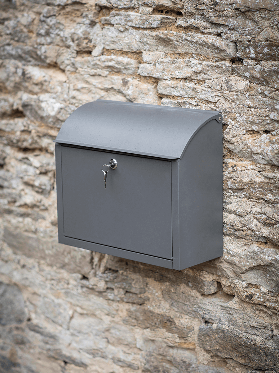 5 Favorites Scandinavian Style Mailboxes Gardenista Post Box Post Box Wall Mounted Post Boxes Uk