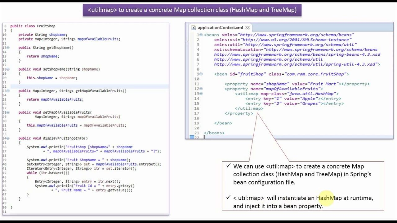 How To Create A Concrete Map Collection Class Hashmap And Treemap