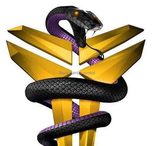 Black mamba symbol Kobe bryant black mamba, Kobe mamba