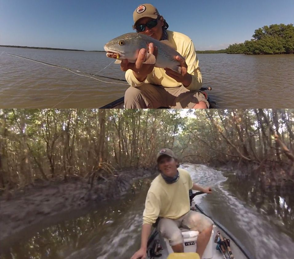 Epic Fishing Video in the 10,000 Islands Florida out of Chokoloskee, Florida -