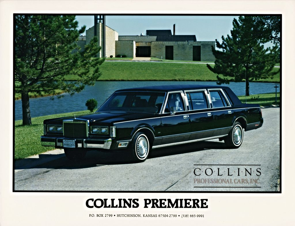1988 Lincoln Continental Town Car 6 Door Limousine By Collins