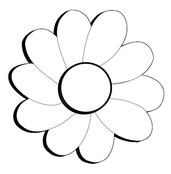 Black Flower Png Flower Flora 41 Black White Line Art