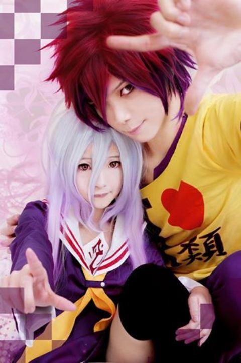Sora Shiro Cosplay No Game No Life Cosplay Anime Shiro Cosplay Amazing Cosplay
