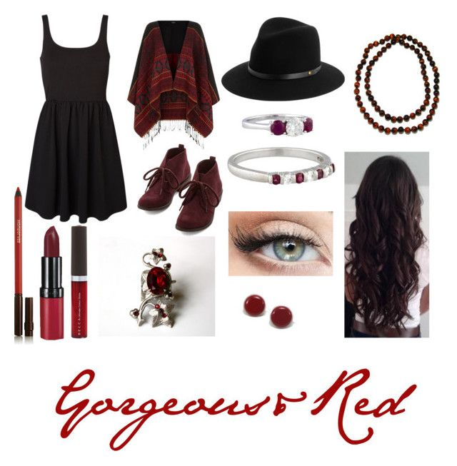 """""""Gorgeous&Red"""" by xxstardustxx ❤ liked on Polyvore featuring Vero Moda, rag & bone, Tiffany & Co., Pearlz Ocean, Rimmel, Hourglass Cosmetics and Becca"""