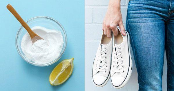 Weiße Turnschuhe reinigen: Mit diesen 4 genialen Tricks