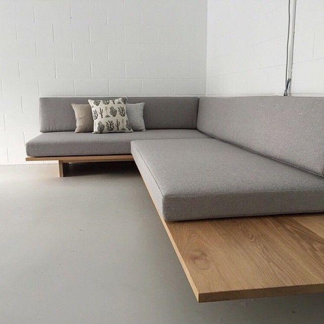 Photo of Atemberaubendes, maßgeschneidertes Daybed / entspanntes Sitzen von @makerstudio…