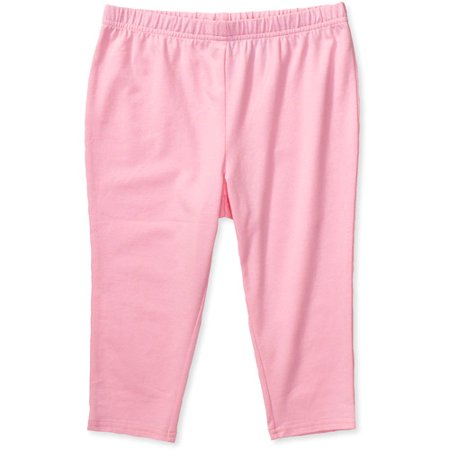 0ffeb30c62b22 Faded Glory - Girls' Capri Leggings, Pink   Products   Capri ...