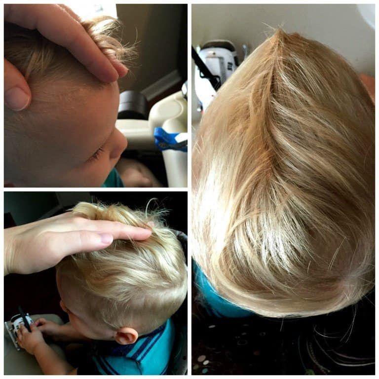 DIY Tutorial: How to Cut Toddler Boy Hair at Home! #diyhaircut