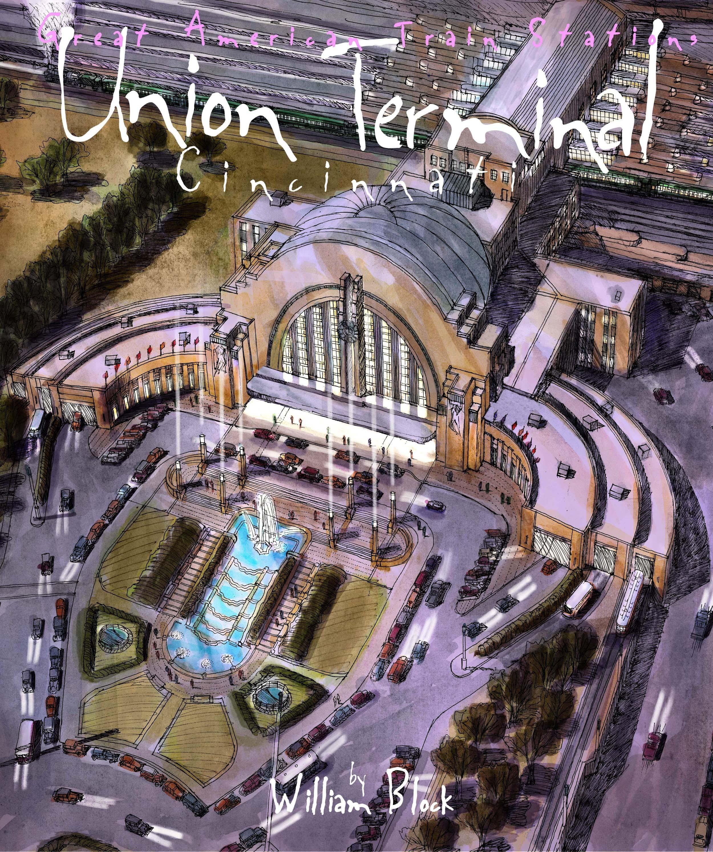 Cincinnati Union Terminal by William Block