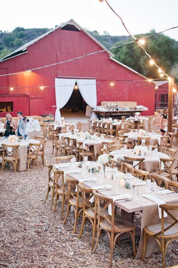 Fall Wedding Ideas for The Ultimate Backyard Barnhouse Country Wedding