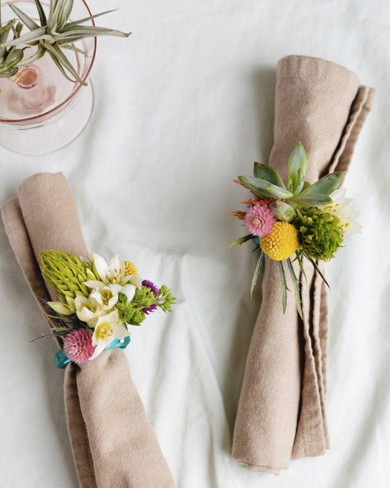 Diy Rond De Serviette 9 idées diy pour décorer votre table | rond de serviette