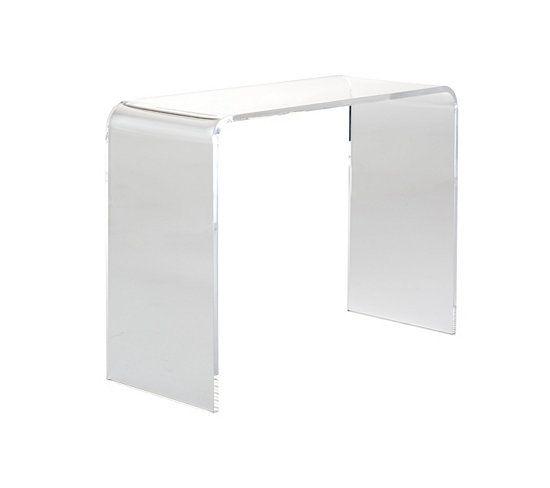 tables d 39 appoint et consoles console plexi transparente. Black Bedroom Furniture Sets. Home Design Ideas