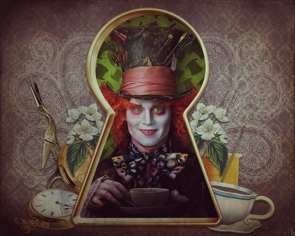 Undefined The Mad Hatter Wallpapers 30 Wallpapers Adorable Wallpapers Alice In Wonderland Mad Hatter Alice In Wonderland Theme