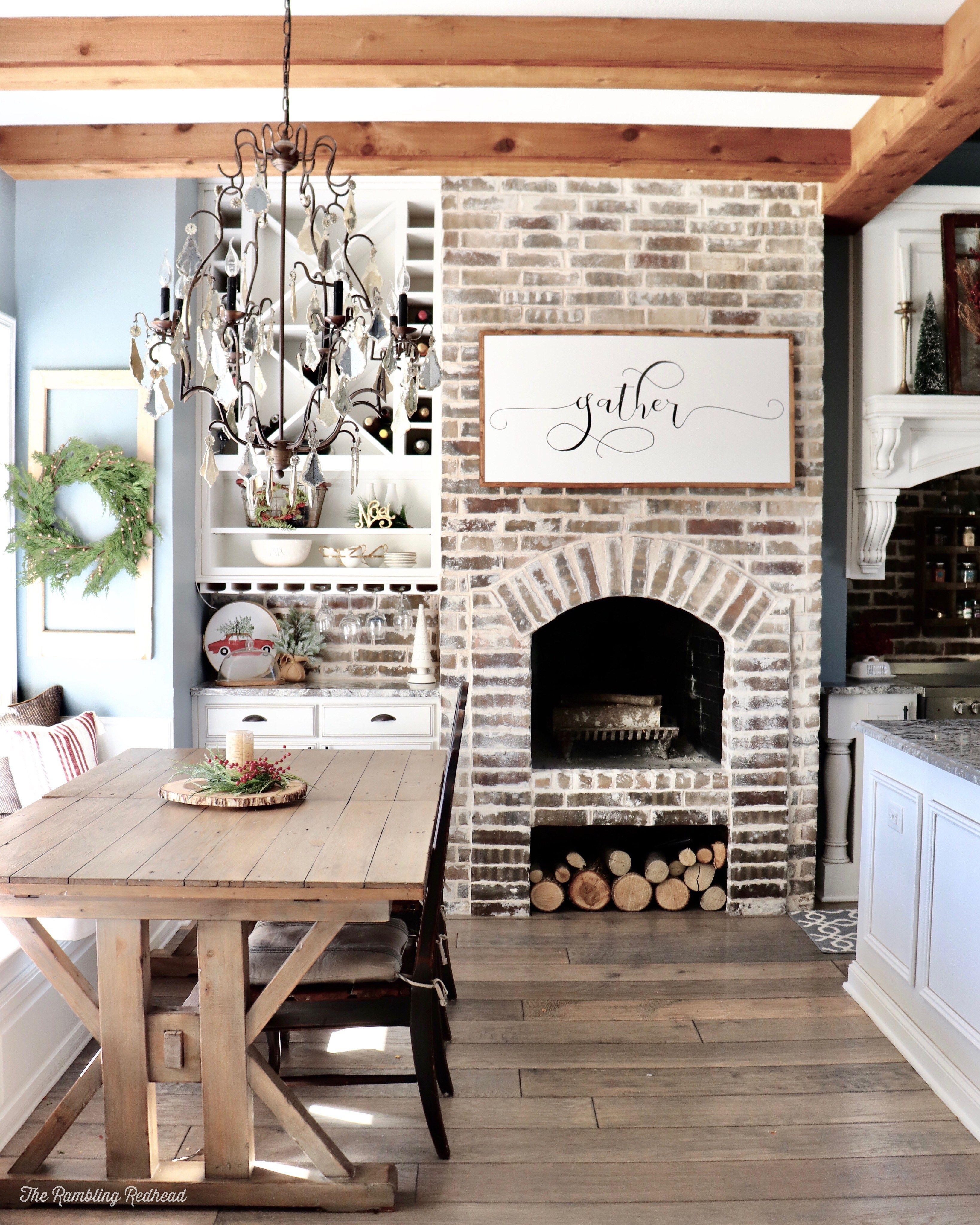cozy farmhouse christmas home tour with a little rustic tossed in too french country kitchen on farmhouse kitchen xmas id=26228