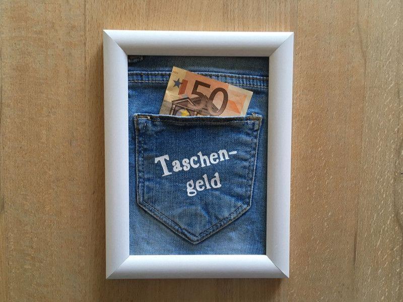 Geldgeschenke Geldgeschenk Taschengeld Ein Designerstuck Von
